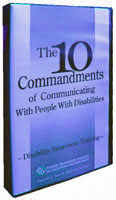Ten Commandments of Communicating With People With Disabilities