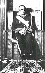 Mobutu, King of Zaire - image