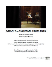Chantal Akerman, From Here press kit image