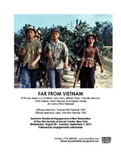 Far from Vietnam press kit image