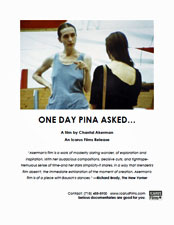 One Day Pina Asked... press kit image
