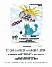 To Chris Marker, An Unsent Letter press kit image